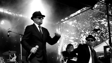 Blues Brothers Rebooted (Duo) at Tea Gardens Country Club feat Cricket Legend Len Pascoe