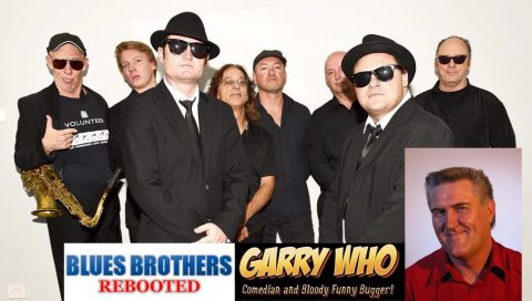 Saturday 9th July Blues Brothers Rebooted Play The Basement Circular Quay 9pm