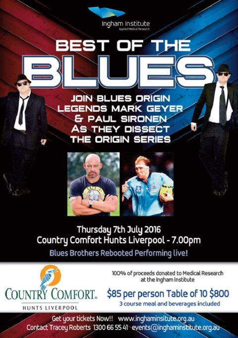 Best Of The Blues Charity Night !