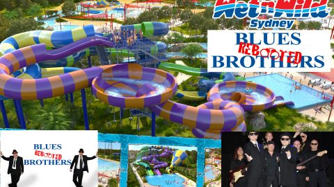 Blues Brothers Rebooted Live @ Wet'n'Wild Sydney