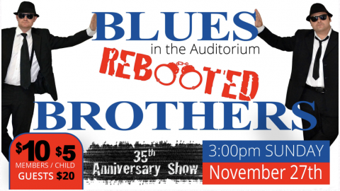 Blues Brothers Rebooted Live At Petersham R.S.L – ALL AGES