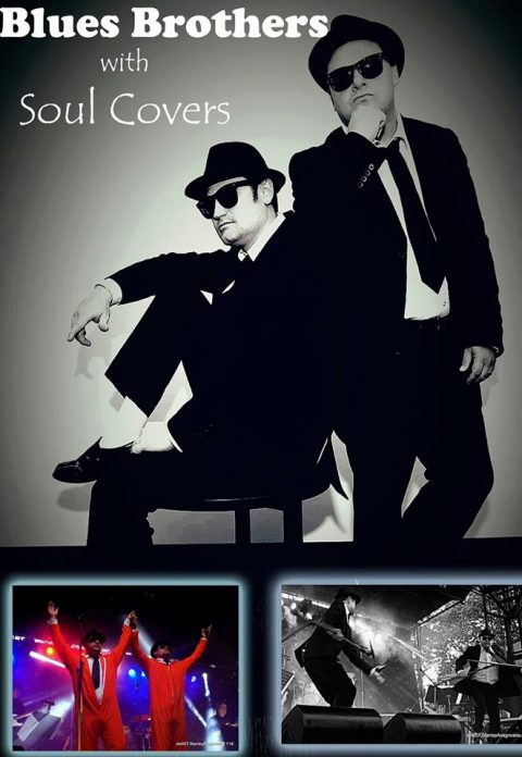 Tonight ! …. Blues Brothers Rebooted (Duo) At Tomakin sports Club Feat Cricket Legend Len Pascoe