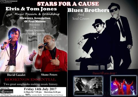Stars for a Cause: Autism Spectrum Aspect South Coast School Charity Dinner