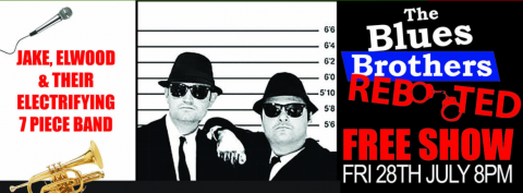Blues Brothers Rebooted Live at Club Macquarie