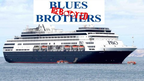Blues Brothers Rebooted Sail P&0 Pacific Eden – Cairns to Rabual (Papua New Guinea)