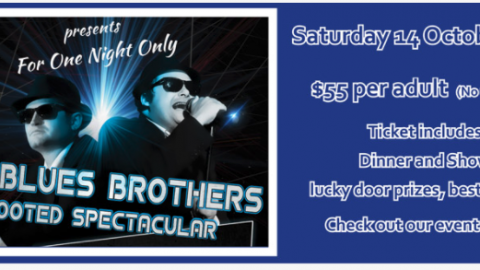 Blues Brothers Rebooted (Duo) at West Pymble Bicentennial Club