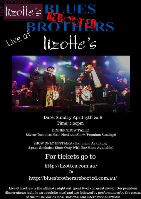 Blues Brothers Rebooted Live at Lizotte's (Newcastle)