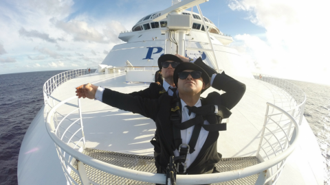 Blues Brothers Rebooted Sail P&O Pacific Eden Sydney to Port Vila (Vanuatu)