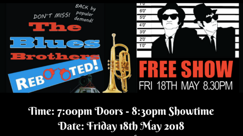 Blues Brothers Rebooted Live at Club Macquarie (Argenton)
