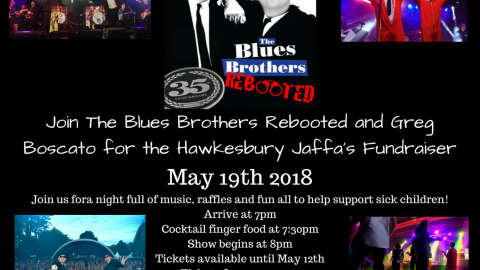Blues Brothers Rebooted – Hawkesbury Jaffa's Fundraiser
