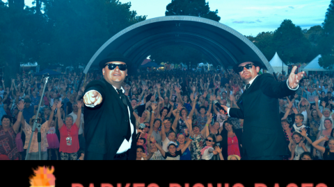 Blues Brothers Rebooted Live at Parkes Picnic Races/Parkes Hotel