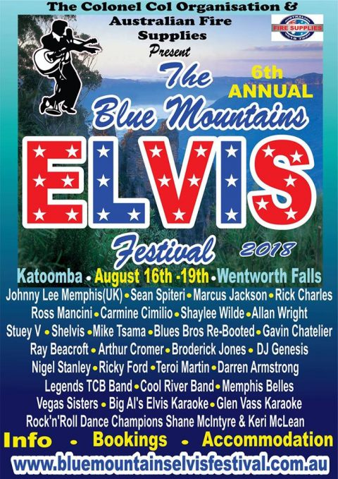 "Blues Brothers Rebooted (Duo) at The Annual Blue Mountains ""Elvis"" Festival 2018"