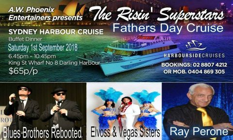 The Risin' Superstars Pre Fathers Day Sydney Harbour Cruise