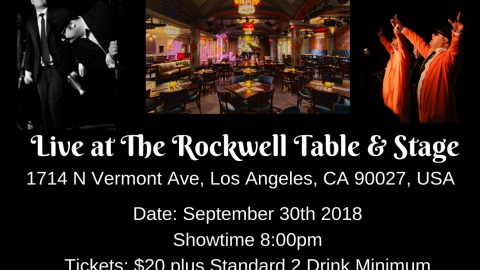 Blues Brothers Rebooted at the Rockwell Table & Stage, Los Angeles California