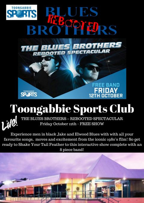 Blues Brothers Rebooted Live at Toongabbie Sports Club