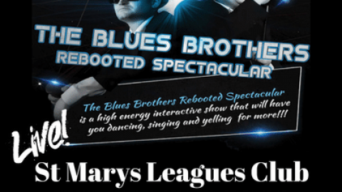 Blues Brothers Rebooted Live at St Marys Leagues Club
