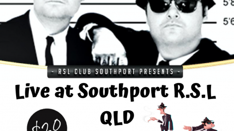 Blues Brothers Rebooted Live at Southport R.S.L Club QLD