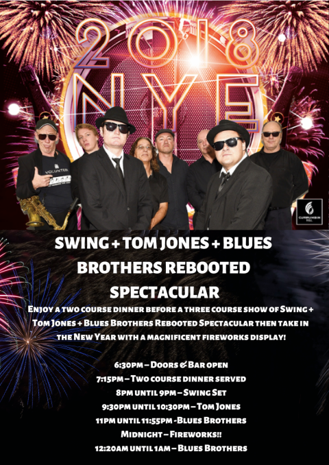 Blues Brothers Rebooted Spectacular NYE Live at Currumbin R.S.L (QLD)