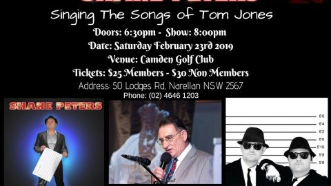 Blues Brothers Rebooted (Duo) Feat Test Crickets Len Pascoe at Camden Golf Club