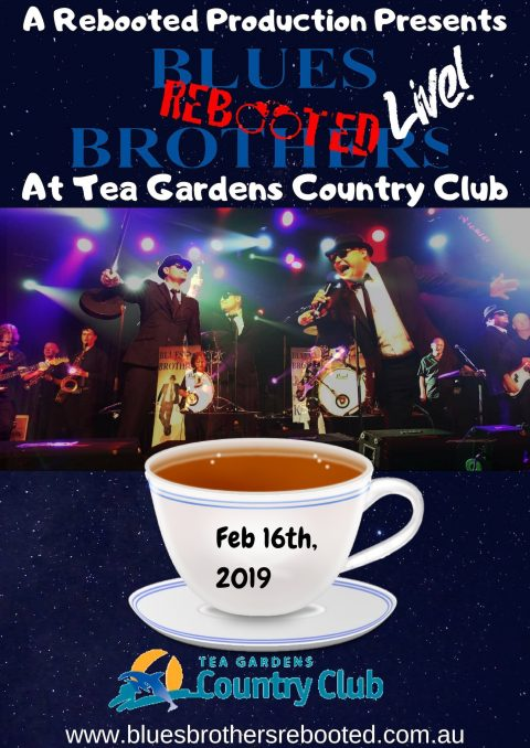 Blues Brothers Rebooted Live at Tea Gardens Country Club