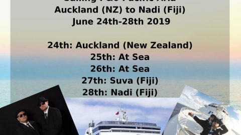 Blues Brothers Rebooted Presents A Band-On Ship Sailing P&0 Pacific Aria Auckland (New Zealand) Nadi (Fiji)