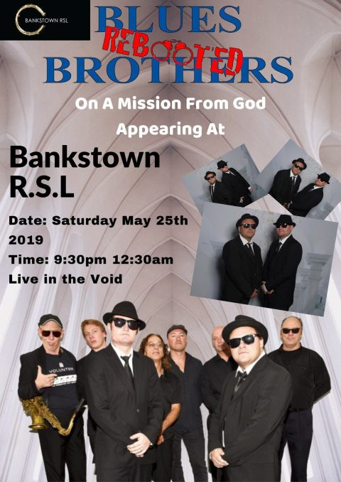 Blues Brothers Rebooted Live at Bankstown R.S.L
