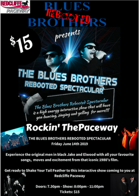 Rockin' The Paceway feat Blues Brothers Rebooted Live at Redcliffe Paceway (QLD)