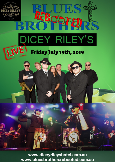 Blues Brothers Rebooted Live at Dicey Riley's (Wollongong)