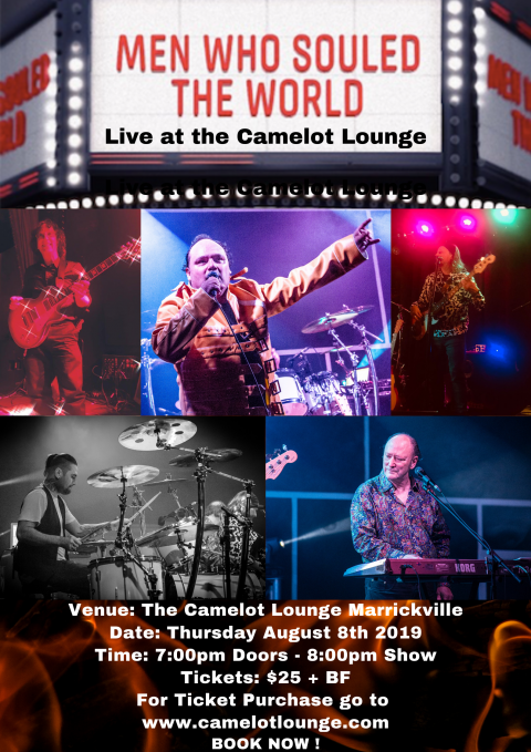 The Men Who Souled The World Live at The Camelot Lounge (Marrickville)