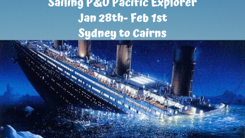 Blues Brothers Rebooted Sail Pacific Explorer Sydney to Cairns