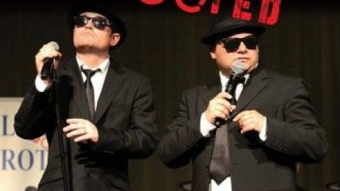 Blues Brothers Rebooted Live at Wingham Services Club