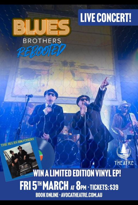 Blues Brothers Rebooted Live at Avoca Beach Theatre